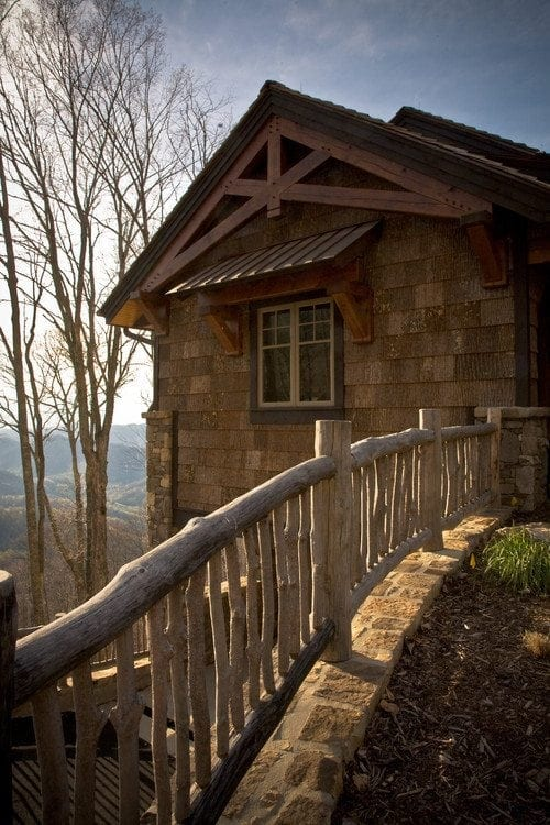 Beautiful homes compliments of sacksteder 39 s interiors - Rustic wood fences a pastoral atmosphere ...