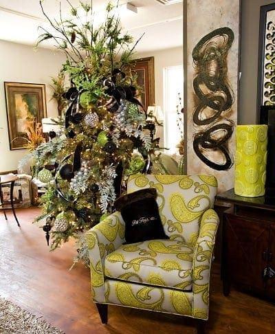 Tree decorating services at sacks sacksteder 39 s interiors - Interior holiday decorating services ...