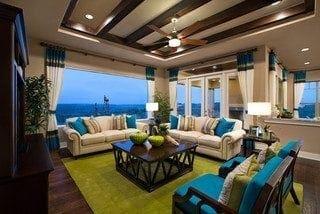 Traditional Living Room By Roswell Interior Designer Regas Interiors LLC