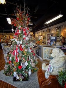 at our showroom we have a wealth of pre decorated trees that are ready to bring some holiday spirit to your home