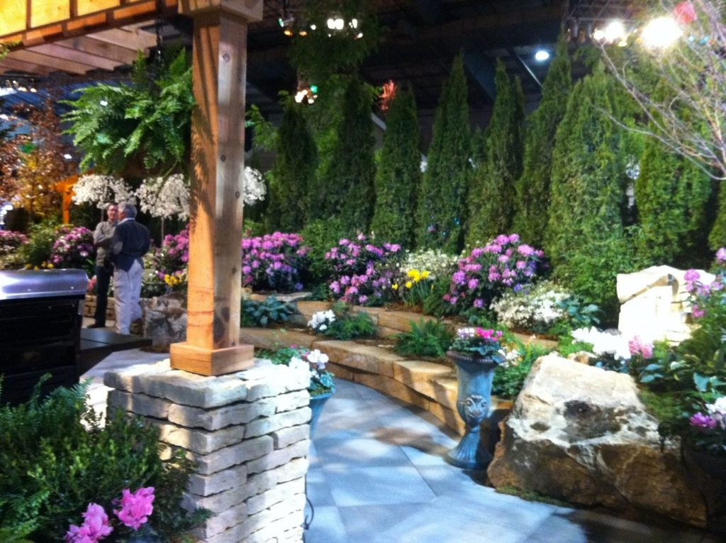 Amazing Home And Garden Show Garden 1