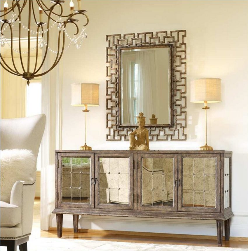 Hooker Furniture mirrored table