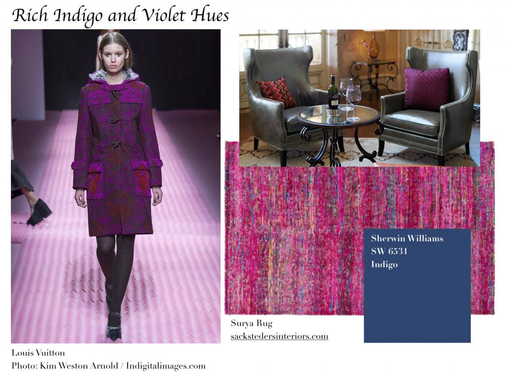 Indigo and Violet Hues