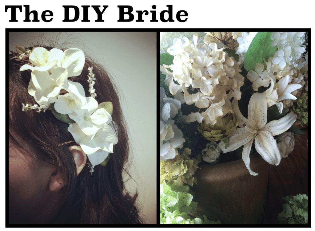 DIY bride wedding season