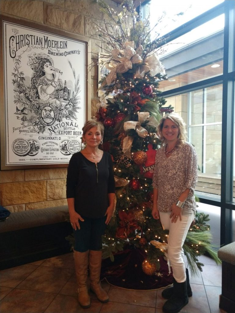 jackie and nikki turn up the excitement in christmas decorating - Residential Christmas Decorating Service